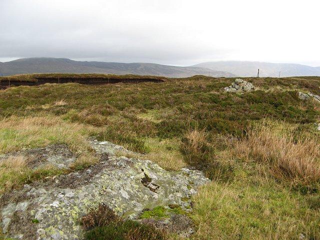 Meall nam Fiadh, East top
