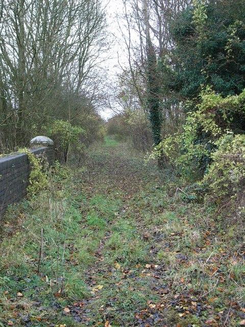 Former railway line to Cheltenham