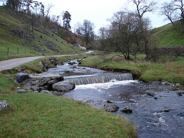 Weir near Clapham Cave
