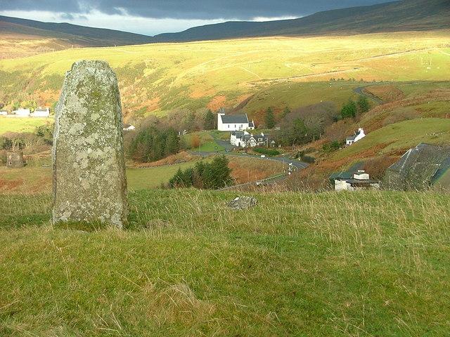 Standing Stone at Peinsoraig