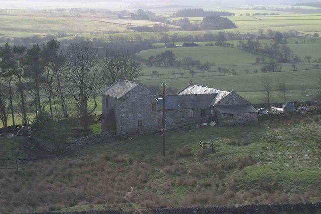 Shitlington Crag Cottage in 2004