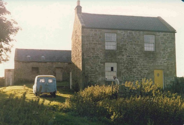Shitlington Crag Cottage in 1977