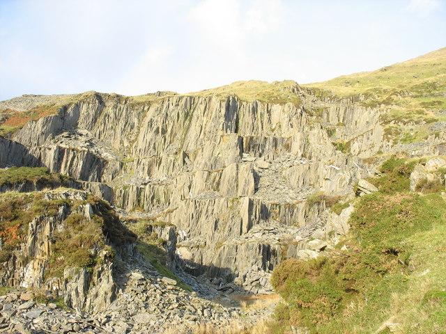 Gorseddau Quarry - a short lived venture