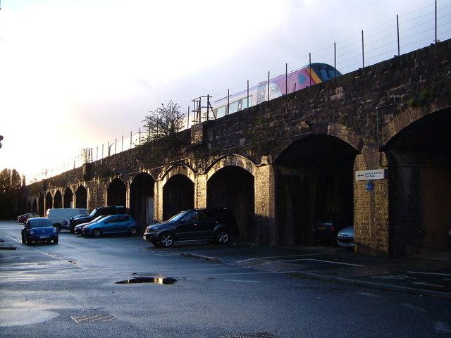 Railway viaduct, Exeter