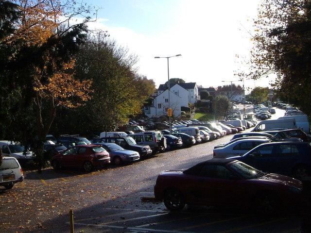 Fairpark car park, Exeter