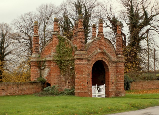 Erwarton Hall Gatehouse