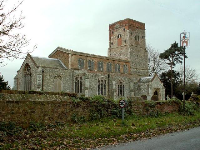St. Mary's church, Erwarton, Suffolk