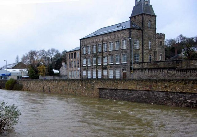 Old mill on the banks of the Teviot, Hawick