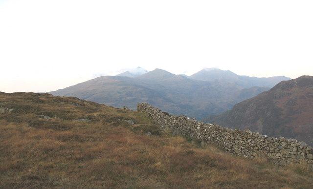 Approaching the summit of Bwlch y Gymwynas