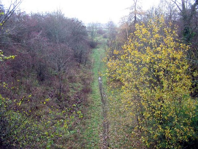 Disused railway, Hawick