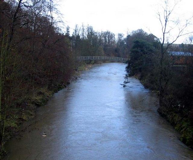 Footbridge over the Teviot