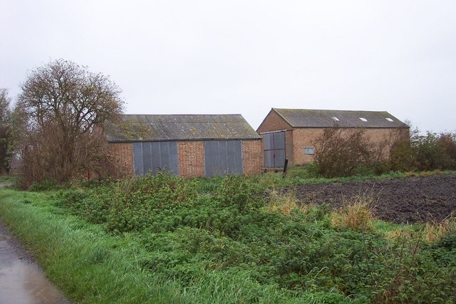 Barns on the Black Drove