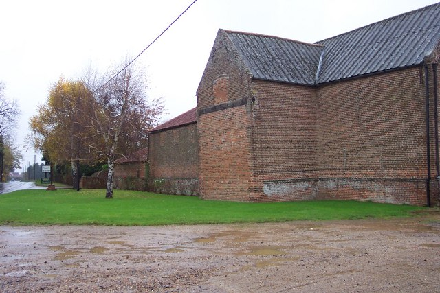 Farm buildings at Fitton House