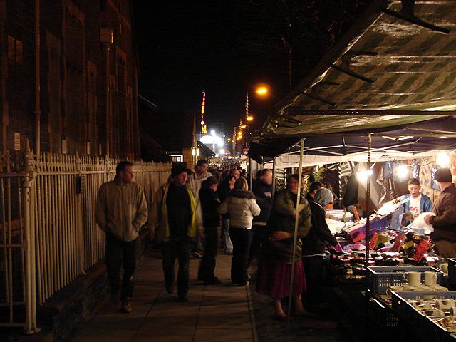 'Hiring Fair' Street Market