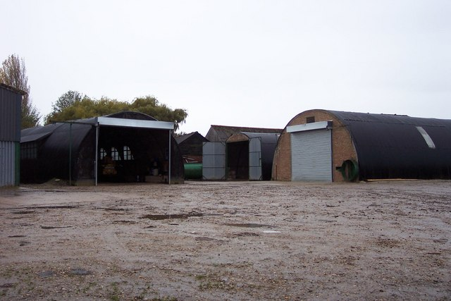 Buildings at Chase Farm