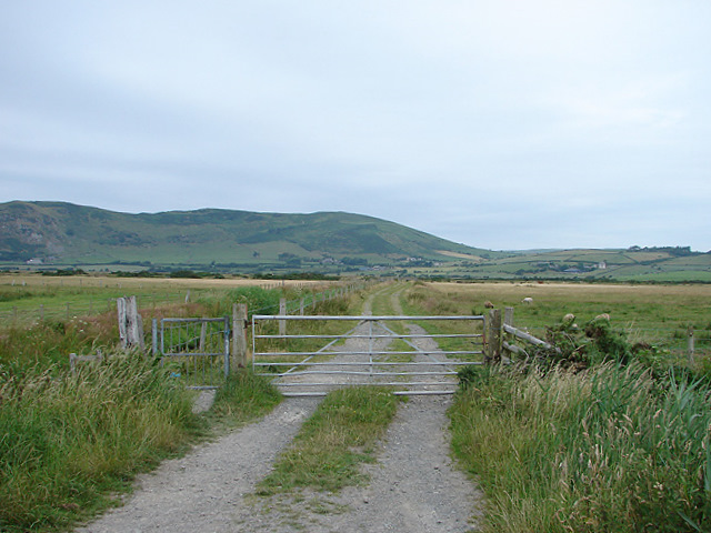 Track from Tywyn to Broad Water