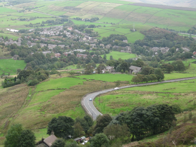 Delph Village