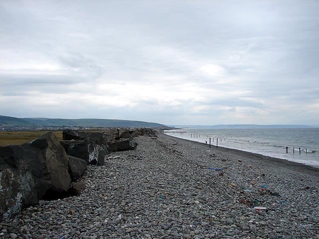 Beach north of Tywyn