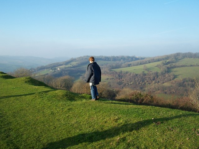 On Top of Little Solsbury