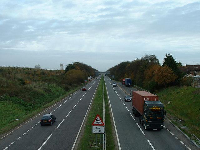 A14 Felixstowe