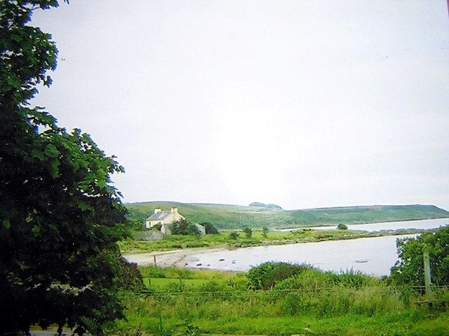 Looking south to the old Manse from near Crubasdale Lodge