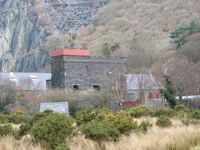 The Dinorwig Quarry Waterwheel