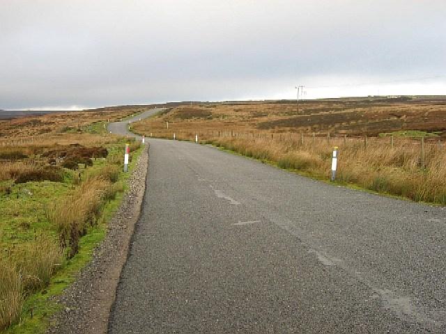 The Road Across Preston Moor