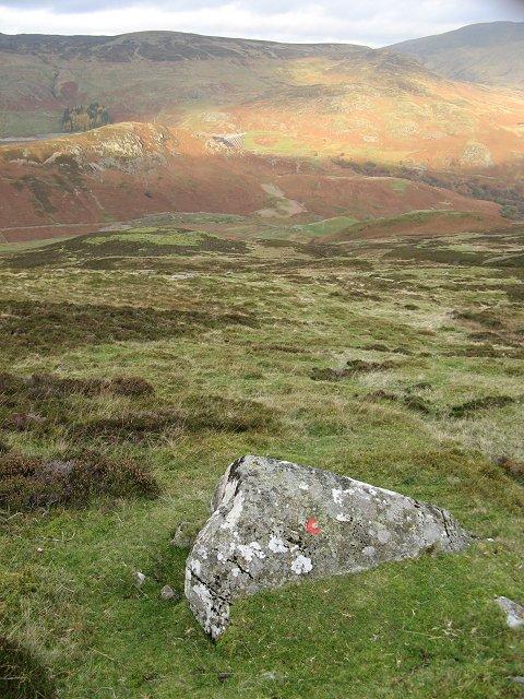 Gleann Mathaig, and the Lednock dam