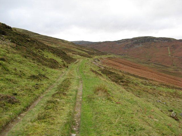 Hydro track, Gleann Mathaig