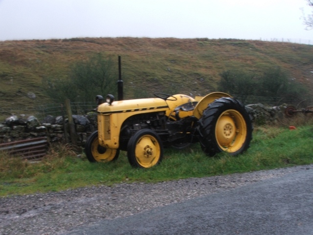 Yellow Tractor.
