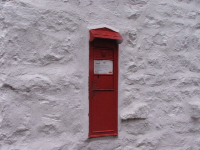 Victorian Postbox at Hubberholme.