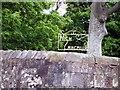 NS3941 : Farm Sign At High Langmuir by Thomas Nugent