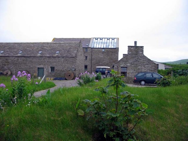 Old mill converted into a holiday home