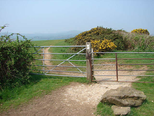 Gate on the Purbeck Way