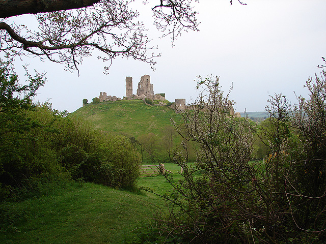 On the Purbeck Way, to the west of Corfe