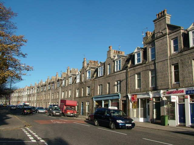 Tenements on Great Northern Road
