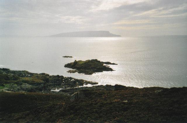 Over Eilean Sgorach towards Eigg