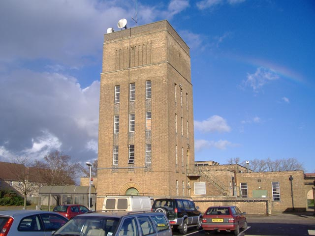 Aerial tower at Princess of Wales Hospital, Ely