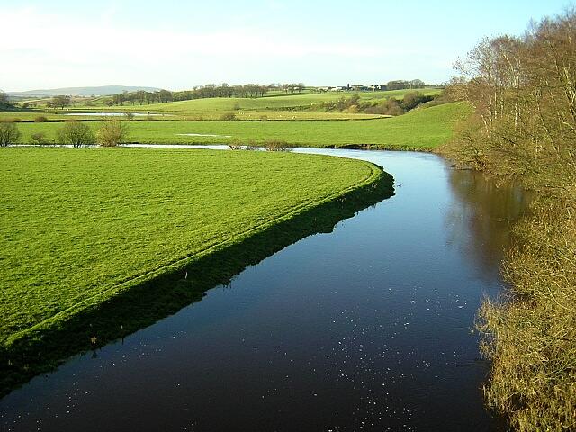 Douglas Water at Douglasmouth Bridge