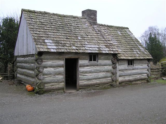Log Cabin, Ulster American Folk Park