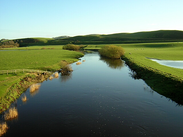 Douglas Water Downstream of Douglasmouth Bridge