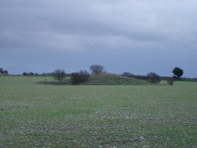 Tumulus on Gussage Hill