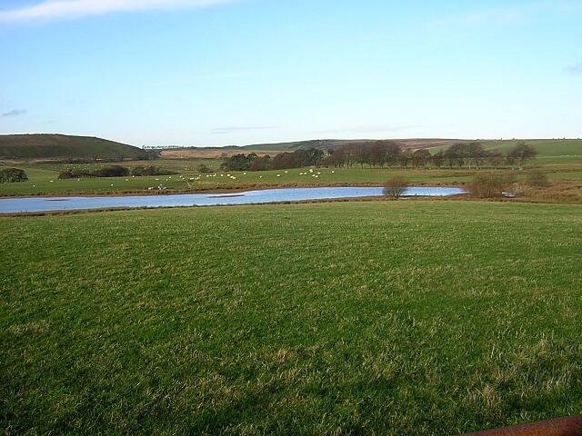 Small Loch Near Tower Farm