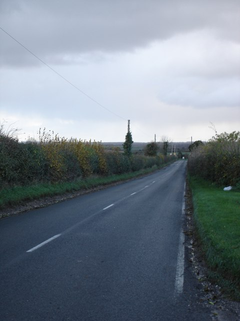 Handley Hill, road into Sixpenny Handley