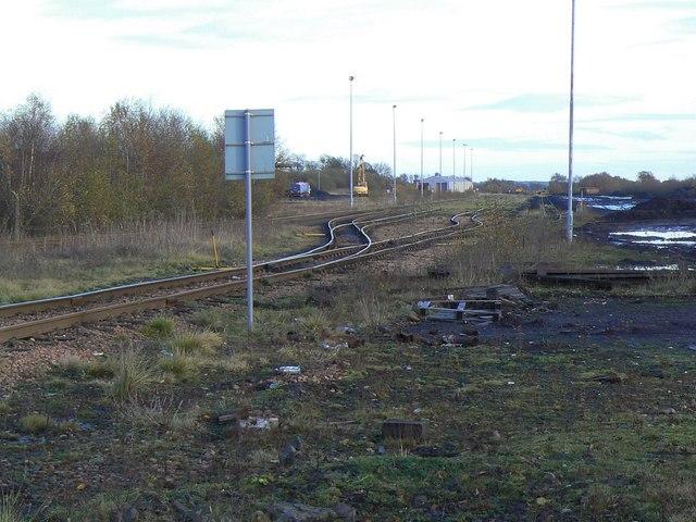 Birchwood railway sidings