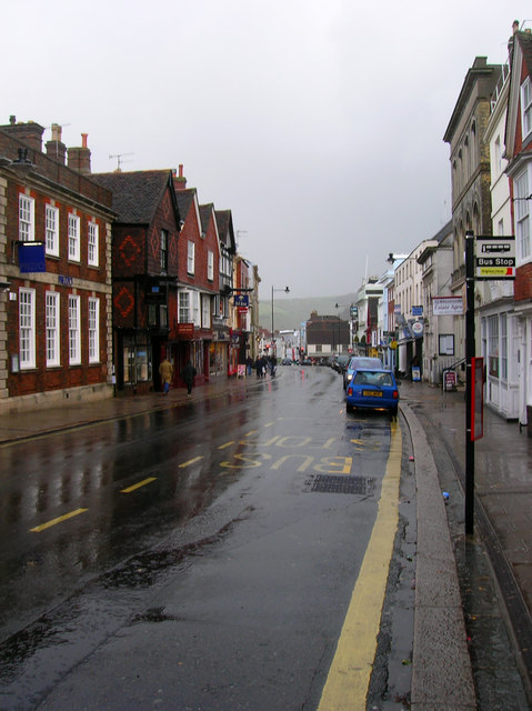 After the Deluge, Lewes High Street