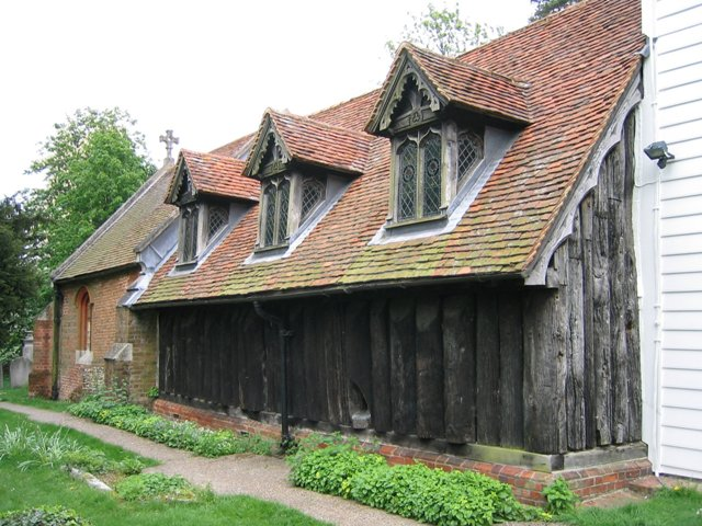 Greensted Wooden Church
