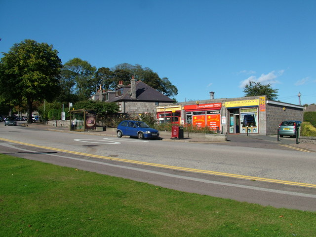 Shops on Cornhill Road