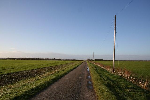North Drove on Swaton Fen
