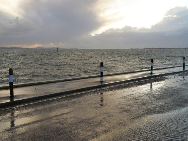 Wet coast road, Lepe